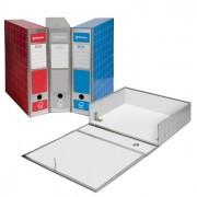 Scatole archivio con bottone - Scatola Archivio Box4 Blu 37,5x29,5x9Cm -