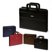 Borse cartelle e valigie - CARTELLA PORTABLOCCO PROFESSIONAL 36X28.5X6CM BLU NIJI -