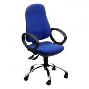 Sedute operative - Sedia Operativa Ariel Blu con Bracc. -