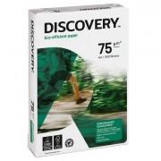 Carta 70-80gr bianca - Carta Bianca Discovery 75 A3 75Gr 500Fg Discovery75A3 - CONF.5 -