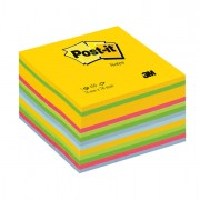 Blocchi adesivi - dispenser - Blocco Cubo 450Foglietti Post-It 76x76mm 2030-U Ultracolor -