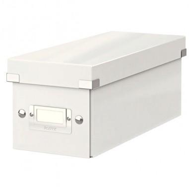 Scatole archivio con maniglie - Scatola Archivio Cd Clickstore Bianco Metal -