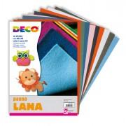 Cartoncino collage - 10 Pezze Panno Lana 20x30Cm Colori Assortiti Cwr -