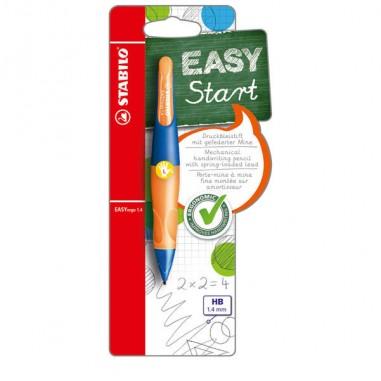 Portamine - Portamine Stabilo Easyergo 1,4mm + 3 Mine Per Mancini Ultramarine/Orange -
