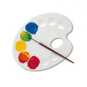 Accessori pittura - Tavolozza 10 Scomparti Per Miscelazione Cmp 207T1 - CONF.6 -