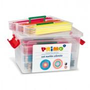 Pennarelli scuola - Schoolbox 216 Pastelli Colorati 100 Fsc In 12 Colori Primo -