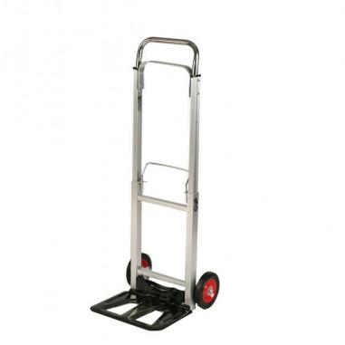 Carrelli per movimentazione - Carrello Portatutto In Alluminio Pieghevole con Ruote Portata Max 90Kg -