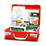 Armadietti pronto soccorso e kit reintegro - Valigetta Pronto Soccorso Arancio Medic 1 Fino A 2 Persone -
