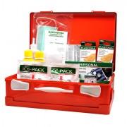 Armadietti pronto soccorso e kit reintegro - Valigetta Pronto Soccorso Arancio Medic 2 Oltre 3 Persone -