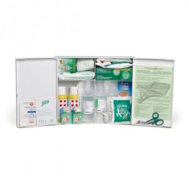 Armadietti pronto soccorso e kit reintegro - Armadietto Pronto Soccorso In Plastica Bianco 102P Oltre 3 Persone -