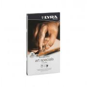 Speciali - Astuccio Metallo Assortimento 12 Matite Rembrant Art Special Schizzo Lyra -