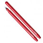 Fineliner - Pennarello Tratto Pen New Metal Rosso - CONF.12 -