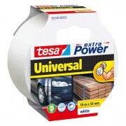 Nastri adesivi speciali - carta telato ecc. - Nastro Adesivo 10Mtx50mm Bianco Tesa Extra Power Universal -