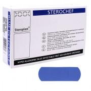 Parafarmaceutica - Scatola 100 Cerotti 2x7Cm Blu Detectable -