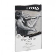 Speciali - Astuccio Metallo Assortimento Rembrant Charcoal Set Lyra -