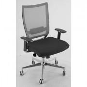 Sedute direzionali - Poltrona Semidirezionale Cot xl Nero E Rete grigia -