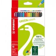 Pastelli colorati - Astuccio 18 Pastelli green Colours Stabilo -
