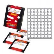 Etichette in foglietti - Etichetta Adesiva Bianca Tonda Diam.14Mm (10Fogli X 63Etichette) Markin X11005 - CONF.10 -