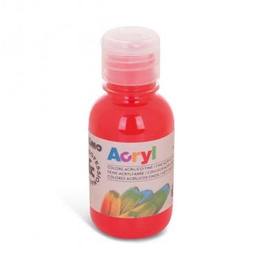 Tempere - belle arti - Colore Acrilico Fine Acryl 125Ml Rosso Vermiglione Primo -