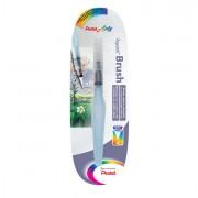 Accessori pittura - Pennello Aquash Water Brush Con Serbatoio Da 10Ml Punta Media Pentel -
