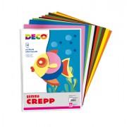 Cartoncino collage - Gomma Crepp Conf. Da 10 Fogli 20x30Cm In Colori Assortiti Cwr -