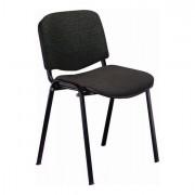 Sedute attesa e accessori - Sedia Attesa Dado D5S No Flame Nero Senza Braccioli -