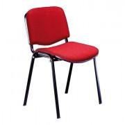 Sedute attesa e accessori - Sedia Attesa Dado D5S No Flame Rosso Senza Braccioli -