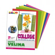 Carta crespa-velina - Album Di Carta Velina 24fg 24x34Cm Colori Assortiti Cwr -