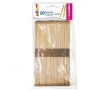 Accessori lavori manuali - Stecche In Legno 50Pz Dim. 18x150mm Cwr -