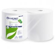 Bobine asciugatutto e supporti - Bobina Asciugatutto 800 strappi / 200mt microgoffrata Eco Pulitutto Lucart - CONF.2 -