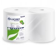 Bobine asciugatutto e supporti - Bobina Asciugatutto 800 strappi / 296mt microgoffrata Eco 800 joint Lucart - CONF.2 -