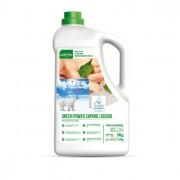 Sapone e pasta lavamani - Sapone Liquido Tanica 5Lt green Power Sanitec -