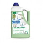 Detergenti e detersivi per pulizia - Detergente Pavimenti Tanica 5Lt green Power Sanitec -