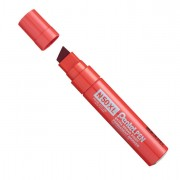 Permanenti - Marcatore N50 Extra Large Rosso Punta A Scalpello 8-15,4mm Pentel -