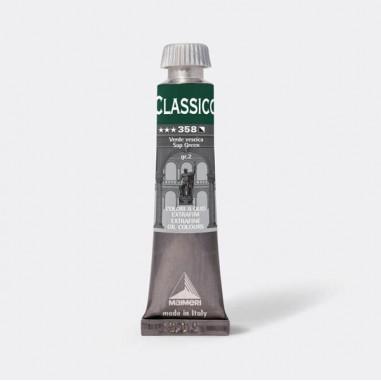Tempere - belle arti - Colore a olio extrafine 20ml verde vescica Maimeri - CONF. 3 pz -