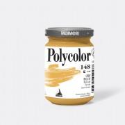 Tempere - belle arti - Colore vinilico Polycolor vasetto 140 ml oro ricco Maimeri - CONF. 3 pz -