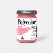 Tempere - belle arti - Colore vinilico Polycolor vasetto 140 ml rosa chiaro Maimeri - CONF. 3 pz -