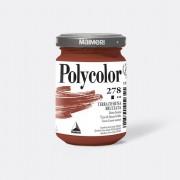 Tempere - belle arti - Colore vinilico Polycolor vasetto 140 ml terra di Siena bruciata Maimeri - CONF. 3 pz -