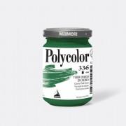 Tempere - belle arti - Colore vinilico Polycolor vasetto 140 ml verde ossido di cromo Maimeri - CONF. 3 pz -