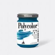 Tempere - belle arti - Colore vinilico Polycolor vasetto 140 ml blu ftalo Maimeri - CONF. 3 pz -