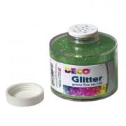 Glitter e porporina - Barattolo glitter grana fine 150ml verde art.130/100 CWR -