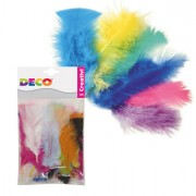 Accessori lavori manuali - Piume colorate 10gr CWR -