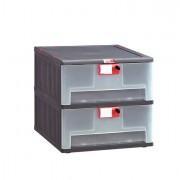 Contenitori multiuso e scaffali - Cassettiera In Pp 2 Cassetti Mopla 102 -