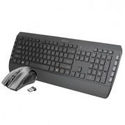 Mouse e tastiere - Set Tecla 2 (tastiera wireless + mouse wireless) - Trust -