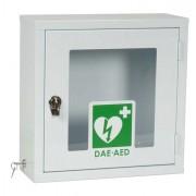 Armadietti pronto soccorso e kit reintegro - Visio teca per defibrillatore semiautomatico DEF040 colore bianco -