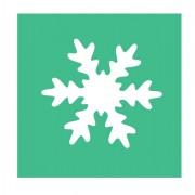 Accessori lavori manuali - Fustella con motivo Fiocco di neve dim. 25mm CWR -
