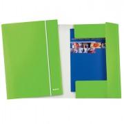 Cartelle con elastico - Cartellina con elastico WOW verde lime 25X35cm - CONF. 5 -