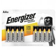 Pile - Blister 8 pile stilo AA - Energizer Alkaline Power -