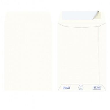 Buste commerciali - 500 Buste a sacco carta riciclata strip 162x229mm S/Finestra 100GR Kami Pigna -