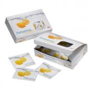 Posate monouso - Box 100 Salviette al limone Sorrento Leone -